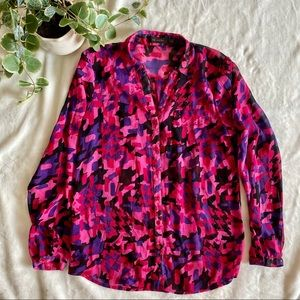 The limited colorful blouse